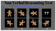 Non verbal reasoning question
