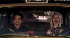 """We wanted to be in this car.   Community Post: 79 Ways """"Friends"""" Were Our Friends"""
