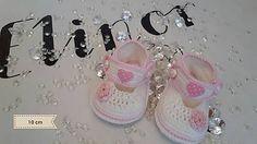 ElinorHandmade / Sandálky bielo-ružové