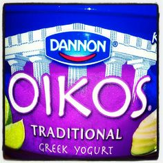 Key lime Oikos Greek yogurt is more like dessert than breakfast but I'll keep eating it in the morning. Yum!