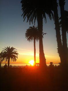 Sunset Santa Monica - California - Beautiful Place