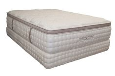 The World Luxury line of mattresses by King Koil are built for comfort and support.  Try one today!