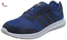 adidas Element Refresh M, Chaussures de Running Compétition Homme, Azul / Negro / Blanco (Eqtazu / Maruni / Eqtnar), 45 1/3 EU - Chaussures adidas (*Partner-Link)