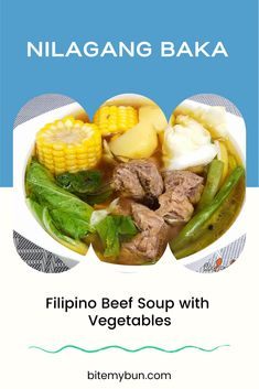 This Nilagang Baka recipe is yet another brothy Filipino dish that is perfect for the rainy days.It is made up of the bony parts of the cow and vegetables and this Nilagang Baka recipe is also very easy to cook as it is also just a one-pot affair.