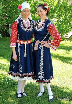 Шопска носия от Бистрица, България.