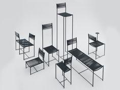 Alias. Spaghetti chair Limited Edition by Alfredo Häberli: sette modelli editati in 7 serie.