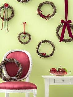 christmas wreaths by gabrielle