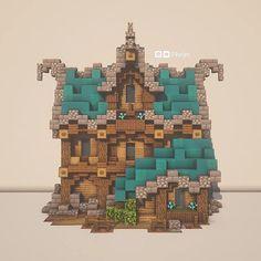 Phelps (u/Phelps_Builds) - Reddit Casa Medieval Minecraft, Minecraft Mansion, Minecraft Cottage, Minecraft Castle, Cute Minecraft Houses, Minecraft Plans, Minecraft House Designs, Minecraft Survival, Amazing Minecraft