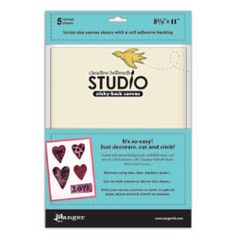 Claudine Hellmuth Studio Sticky-Back Canvas Create backgrounds and embellishments with Claudine Hellmuth Studio Sticky-Back Canvas It rsquo s a