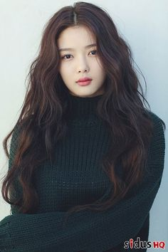 Kim Yoo Jung is gorgeous in new pr Korean Beauty, Asian Beauty, Asian Woman, Asian Girl, Medium Hair Styles, Long Hair Styles, Korean Celebrities, Korean Actresses, Child Actresses