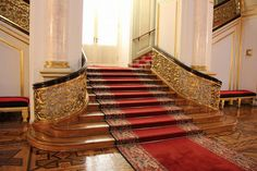 If You Lived Like A Russian - Kremlin Interior 1 - The Great Kremlin Palace was built from 1837 to 1849 in Moscow, Russia. It was intended to emphasize the greatness of Russian autocracy.  The Palace was formerly the tsar's Moscow residence. Its construction involved the demolition of the previous Baroque palace on the site, designed by Rastrelli