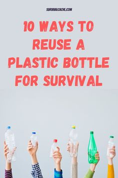 Plastic bottles are one of my favorite items to reuse. Thinking outside of the box and figuring out ways to repurpose them is, in my opinion, a worthwhile survival trait.