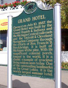 Grand Hotel, Mackinac Island