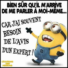 Inspiring image mdr, minions, blague by rayman - Resolution - Find the image to your taste Minion Humour, Just Kidding, Humor, Quotations, Jokes, Lol, Education, Funny, Citation Minion