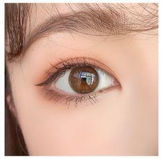 Makeup Korean Style, Korean Eye Makeup, Korea Makeup, Asian Makeup, Korean Makeup Ulzzang, Korean Makeup Tutorial Natural, Korean Natural Makeup, Korean Makeup Tutorials, Aesthetic Eyes