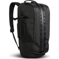 Based in San Francisco, Aer creates industrial and durable bags built to withstand the demands of city living. The Duffel Pack redefines the traditional backpack, combining the convenient access of a