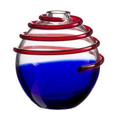 carlo moretti venetian glass vase at #milandesignweek #fuorisalone