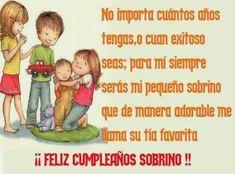 reflexion de cumpleanos para un sobrino   Mejores deseos para un sobrino por su dia de cumple ~ Frases de ...