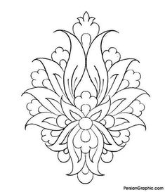 The Latest Trend in Embroidery – Embroidery on Paper - Embroidery Patterns Paper Embroidery, Beaded Embroidery, Embroidery Patterns, Colouring Pages, Adult Coloring Pages, Coloring Books, Islamic Art Pattern, Pattern Art, Pattern Design
