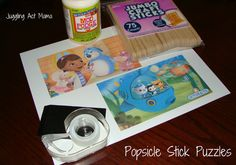 Juggling Act: Popsicle Stick Puzzles