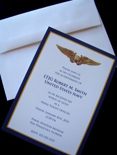 Military Retirement Ceremony Invitations | Party Invitations Ideas ...