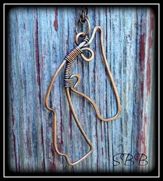 Son Blest Beads Equine Horse Head Wire Pendant by Kimi Springer Oxidized Copper | eBay http://www.ebay.com/itm/SON-BLEST-BEADS-equine-HORSE-head-wire-pendant-by-K-Springer-oxidized-copper-/281175873446?pt=Handcrafted_Artisan_Jewelry&hash=item41776357a6