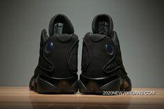 "Air Jordan 13 ""Black Cat"" Black/Anthracite-Black Men's And Women's Size 2020 New Release Michael Jordan Shoes, Air Jordan Shoes, Jordan Sneakers, Nike Sneakers, Best Shoe Stores, Jordan 13 Black, Jordan 11, Jordan Retro, Stephen Curry Shoes"
