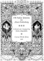 """Gallery.ru / Dora2012 - Альбом """"Old Italian Patterns for Linen Embroidery"""""""