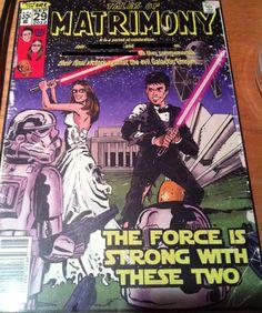 Star Wars Themed Wedding Invitation