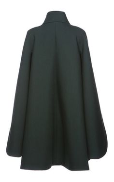 Double Breasted Cape Coat by DICE KAYEK for Preorder on Moda Operandi