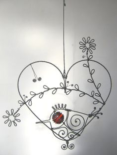 WIRED! Wire baskets, Wire ART, etc. on Pinterest | 267 Pins