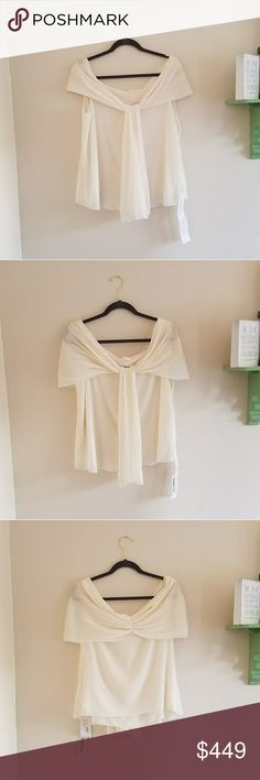 NWT Valentino Silk Blouse Gorgeous cream colored Valentino Silk Blouse new with tag. Retail is $1390, so listed at over 65% off NWT. Sad this blouse is no longer my size, would look beautiful dressed up for work or down with jeans and heels Valentino Tops Blouses