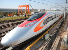 CHINA: The first of nine high speed trainsets which MTR Corp has ordered for the Hong Kong - Shenzhen - Guangzhou Express Rail Link was rolled out by CSR Qingdao Sifang on November Shatabdi Express, Hong Kong Express, Rail Link, Uk Rail, Rail Europe, Europe Train, High Speed Rail, Train Truck, Speed Training