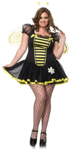 a1223e44ab6 Sexy Daisy Bee Plus Size Costume Plus Size Halloween