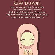 Jadi jangan nyerah ya Islamic Love Quotes, Islamic Inspirational Quotes, Muslim Quotes, Today Quotes, Reminder Quotes, Cute Quotes For Girls, Girl Quotes, Positive Vibes Quotes, Mood Quotes
