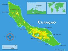 Where is Curacao on world map