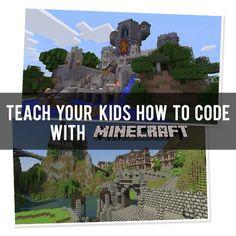 Teach Your Kids How to Code with Minecraft! #minecraftedu #hourofcode
