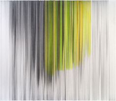 Artist Anne Lindberg creates abstract drawings and installations made from graphite and colored thread that are both rhythmic and mesmerizing.