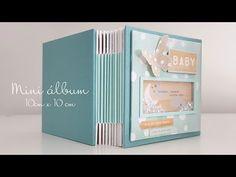 Mini Scrapbook Albums, Scrapbook Sketches, Baby Scrapbook, Mini Albums, New Home Cards, Baby Frame, Girls Album, Mini Album Tutorial, Baby Album