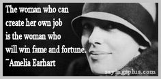 empowering Amelia Earhart Quotes