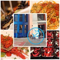 Composizione di piatti dal Menù del Ristorante Marlin Caffè di Saronno