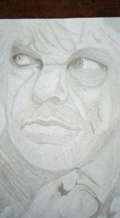 dessin au crayons gris thyrion lalister