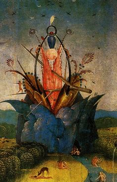 1480-1490 Hieronymus Bosch The Garden of Earthly Delights
