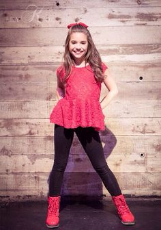 Hi! My names Mackenzie. I'm 10 years old. I'm also known as Mack Z. I sing and dance