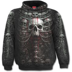 Shop a great selection of Spiral - Mens - Death Ribs - Allover Hoody Black. Find new offer and Similar products for Spiral - Mens - Death Ribs - Allover Hoody Black. Hoodie Sweatshirts, Printed Sweatshirts, Gothic Rock, Unique Hoodies, Cool Hoodies, T Shirt Long, Biker, Skull Hoodie, Urban Street Style