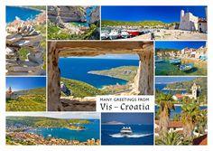 Vis – Kroatien | Urlaubsgrüße | Echte Postkarten online versenden…