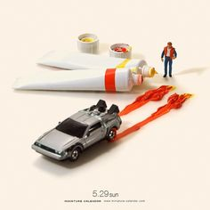 DeLorean Back to the Future   by tanaka_tatsuya
