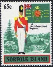 Norfolk Island 1982 Uniforms - Stamps of the World
