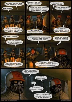 Gone with the Blastwave #47 The game - One of our favorite webcomics.