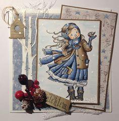 Kirstens Hobbyblogg: Et julekort til :-)
